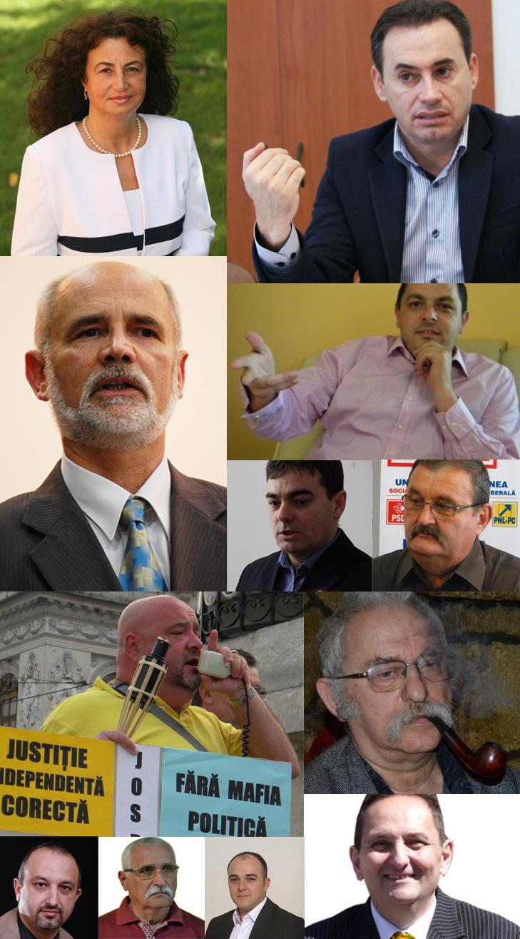 ce fac in 2013 cei 12 candidati la primaria arad