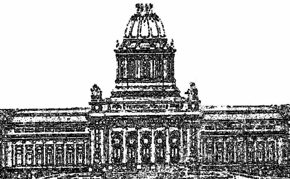 Proiect din 1912 pentru noua cladire a Senatului Romaniei