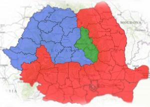 harta alegeri presedinte 2014